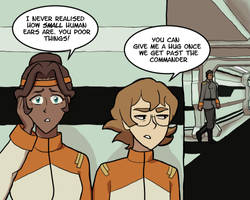 Voltron: Undercover at Galaxy Garrison by sqbr