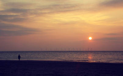 Sunset Beach by KatieCakes7