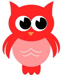 Red Owl PNG by KatieCakes7