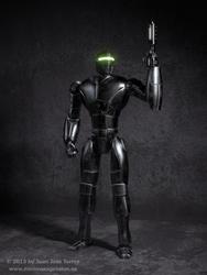 New Robot Design - Shading and Texturing by JuanJoseTorres