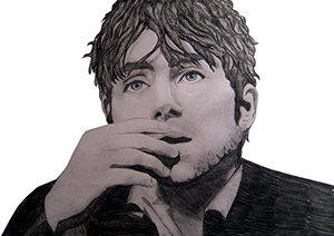 Damon Albarn- by violentjelly by Traditional-Art