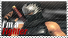 Ryu Hyabusa - I'm a Fighter Stamp by SnowTheWinterKitsune