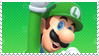 Luigi - Stamp by SnowTheWinterKitsune