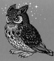 Owl by yulia-hochulia