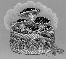 Mushroom casket by yulia-hochulia