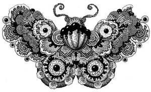 Cookie moth by yulia-hochulia