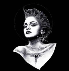 Madonna by yulia-hochulia