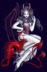 Red Demon by yulia-hochulia