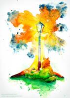 Lampforest by Noriko-Sugawara