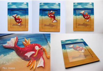 Magikarp Shaker Card by Noriko-Sugawara