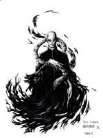 Inktober Day 1: Voldemort by Noriko-Sugawara