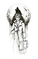 Inktober Day 8: Remus Lupin by Noriko-Sugawara