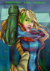 Metroid: Suit Up by Kasey-N-Moore