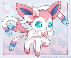 Sylveon Chibi by RebeccaAlexa