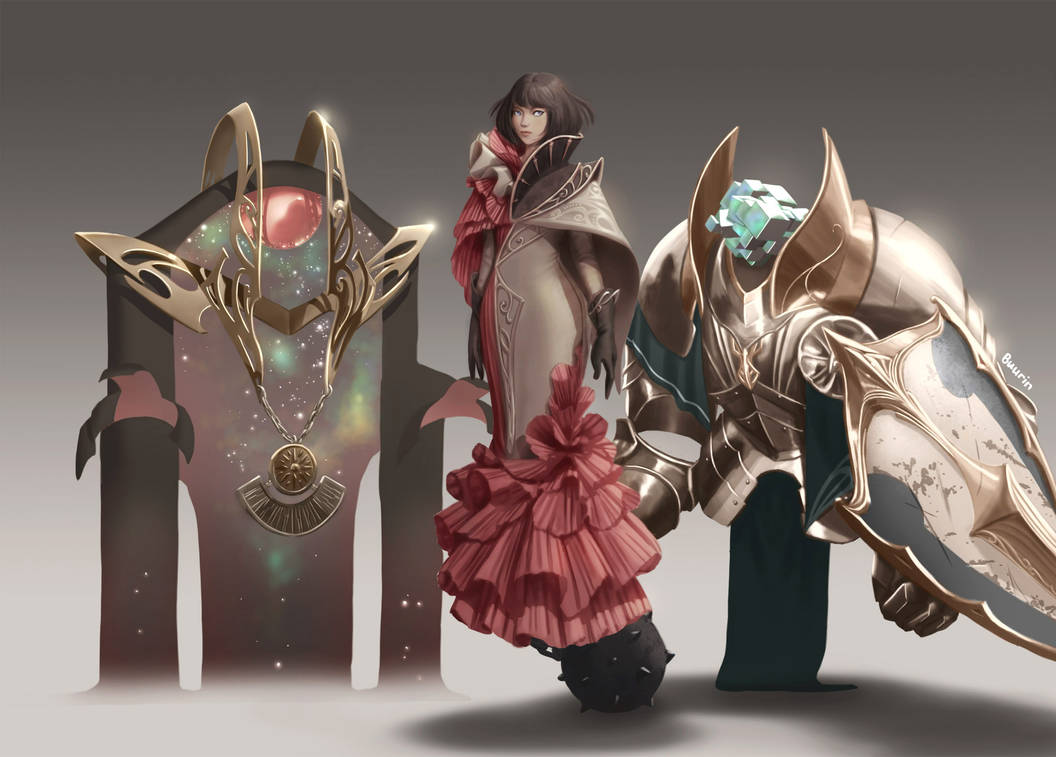 2018 Finisher - Young summoner and her servants by minigod123
