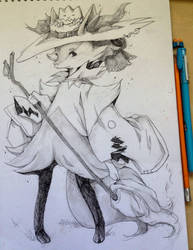 Braixen by ixJackiexx