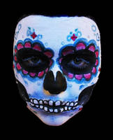 mexican skull 2 by Delusionist13