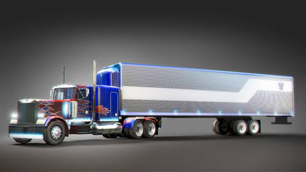 Optimus Prime Truck by mightybuck