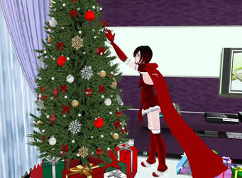 Merry Christmas 2018 from Aqua Senou by Darksunset12
