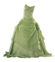 PNG_ light green dress by miralkhan
