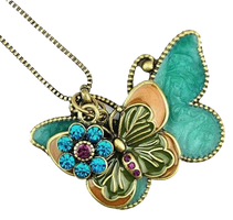 butterfly necklace-png by miralkhan