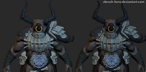 Minotaur by Zbrush-Hero