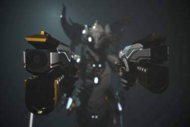 Orokin Dragon Excalibur 2 by Zbrush-Hero