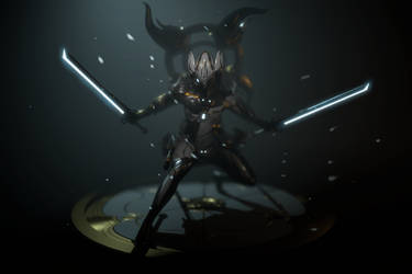 Orokin Dragon Excalibur by Zbrush-Hero