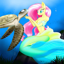 Flutter Sea by BluDraconoid