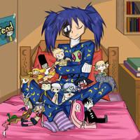 Before sleep by Lunatic-Mo-on