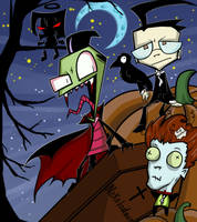 Invader Zim - Halloween 2013 by Lunatic-Mo-on