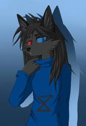black fox by Lunatic-Mo-on