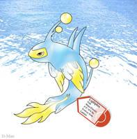 Fakemon- Lightphin by DevilDman