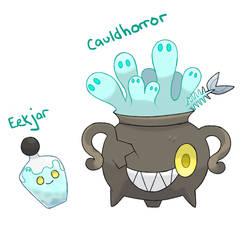 Fakemon Collab - Cauldron by DevilDman