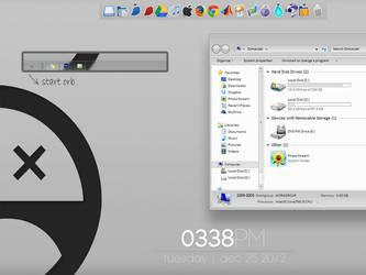 simple desktop by namo15
