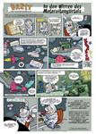 Brett der tapfere Raumpilot by peter-schaaff