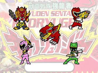 Power Rangers DinoCharge - Zuyden Sentai Kyoryuger by peter-schaaff