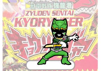 Kyoryu Green by peter-schaaff