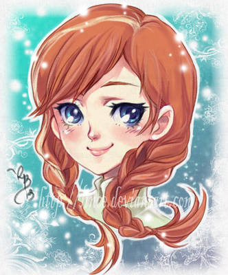 Anna-Frozen by lince