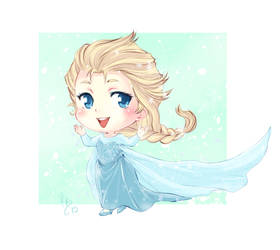 Chibi Elsa by lince