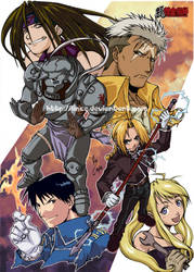 Fanart FMA complete by lince