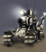 Metal Slug Tank by MCsaad