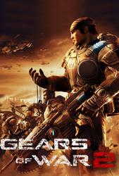 Gears of War 2 Poster by D4rkShaDoWz