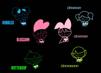PPG Neon Background by KaylaTechHeart