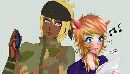 Mayura and Ryder - Collab by BasesMayura