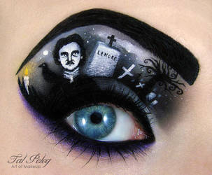 Edgar Allan Poe by scarlet-moon1