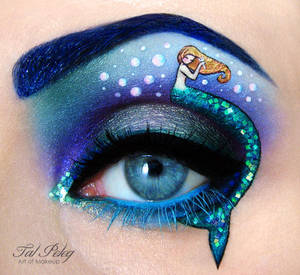 The little mermaid by scarlet-moon1