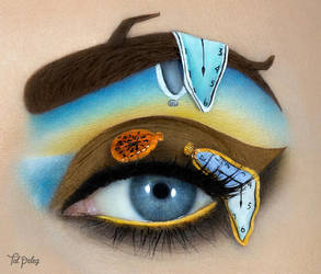 The Persistence of Memory by Dali by scarlet-moon1