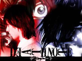Death Note - L vs Raito by byouin