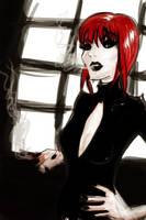 Lady Noir by byouin